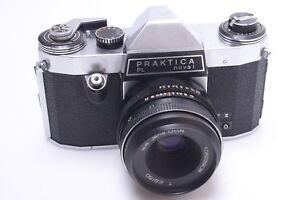 Pentacon praktica pl nova i 35mm q1 camera w m42 zeiss jena tessar