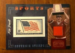 Mikey Powell - Syracuse Lacrosse - Panini - Stamp/swatch card