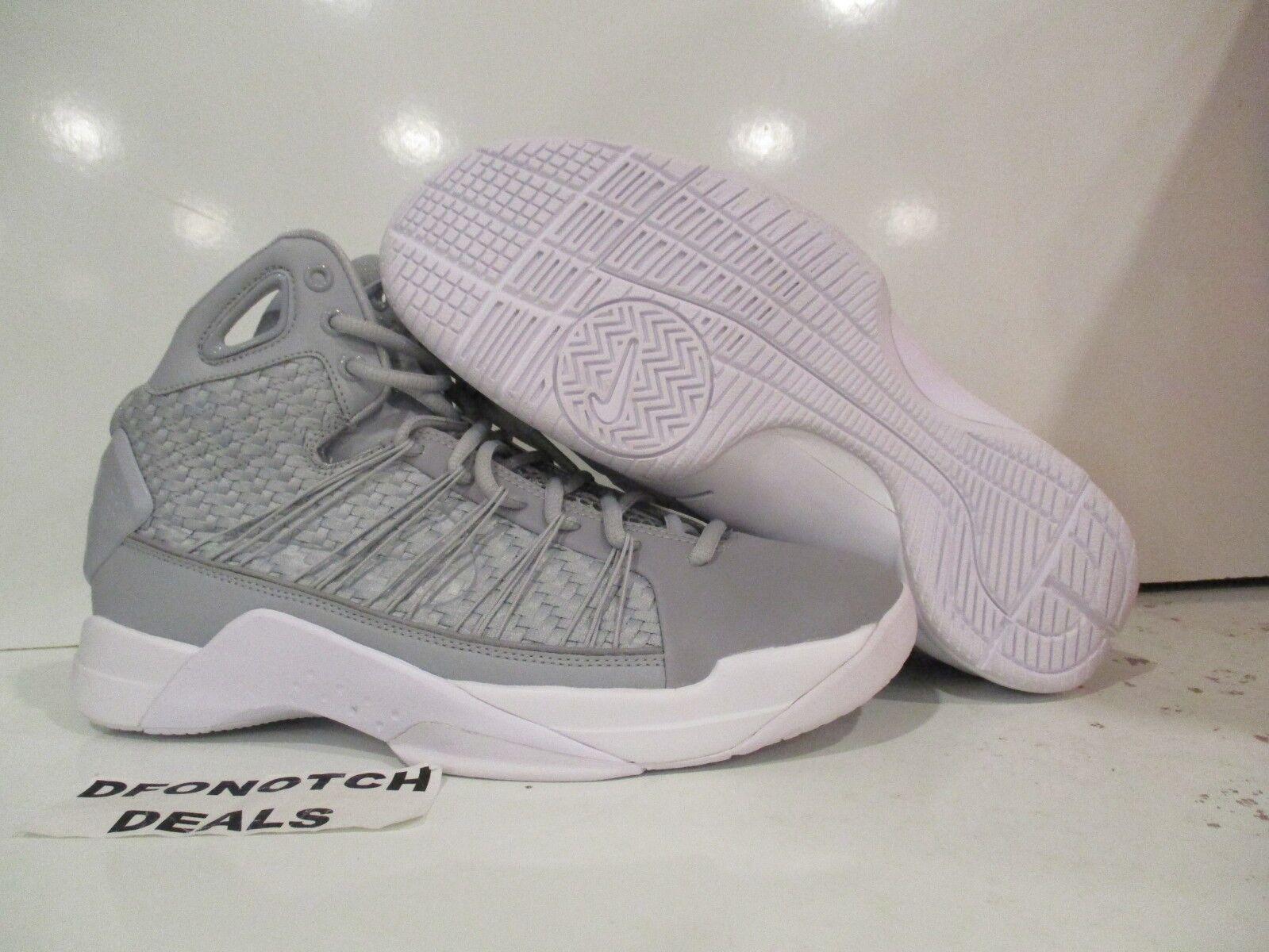uk availability 40430 1c868 Men s Nike Hyperdunk Lux Basketball shoes Sz 10.5 10.5 10.5 Grey 818137-002  MSRP 170