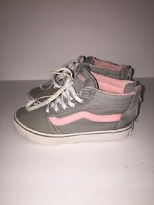 Toddler Vans off the Wall Gray