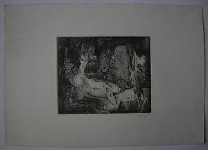 Udo-Scheel-1940-Abstrakte-Landschaft-Orig-Radierung-1972-signiert
