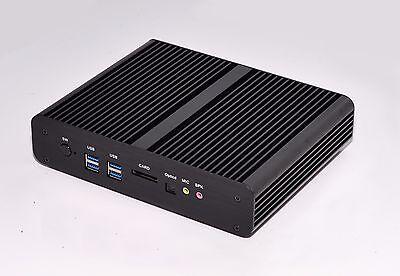 Mini PC Fanless HTPC Bundle Intel Core i7 4500U 2.4Ghz 2x HDMI LAN WIFI DHL P&P