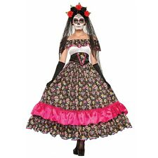 Day of the Dead Costume Sugar Skull La Catrina Dia de Los Muertos Halloween
