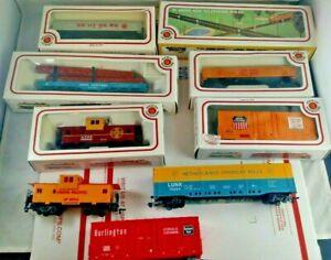 Lot-of-9-Bachmann-HO-Gauge-Scale-Electric-Diesel-Locomotive-Engine-Train-Set