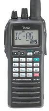 Icom IC-A6/NM+- Handheld Com Transceiver w/Extra Battery