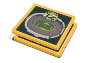 Green Bay Packers 3D Stadium Views Coaster Set (New) Canada Preview
