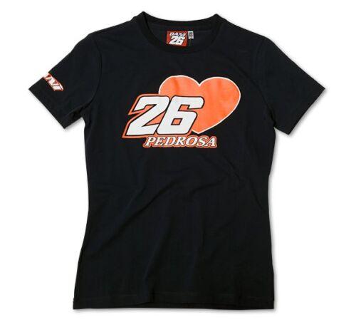 756 02 New Official Dani Pedrosa Navy Womans T/'Shirt