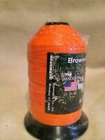 Brownell Dacron Bow String Material B-50 One Pound Spool Orange