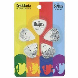 Beatles-Revolver-Album-Guitar-Picks-10-pack-Medium-1CWH4-10B1-D-039-Addario