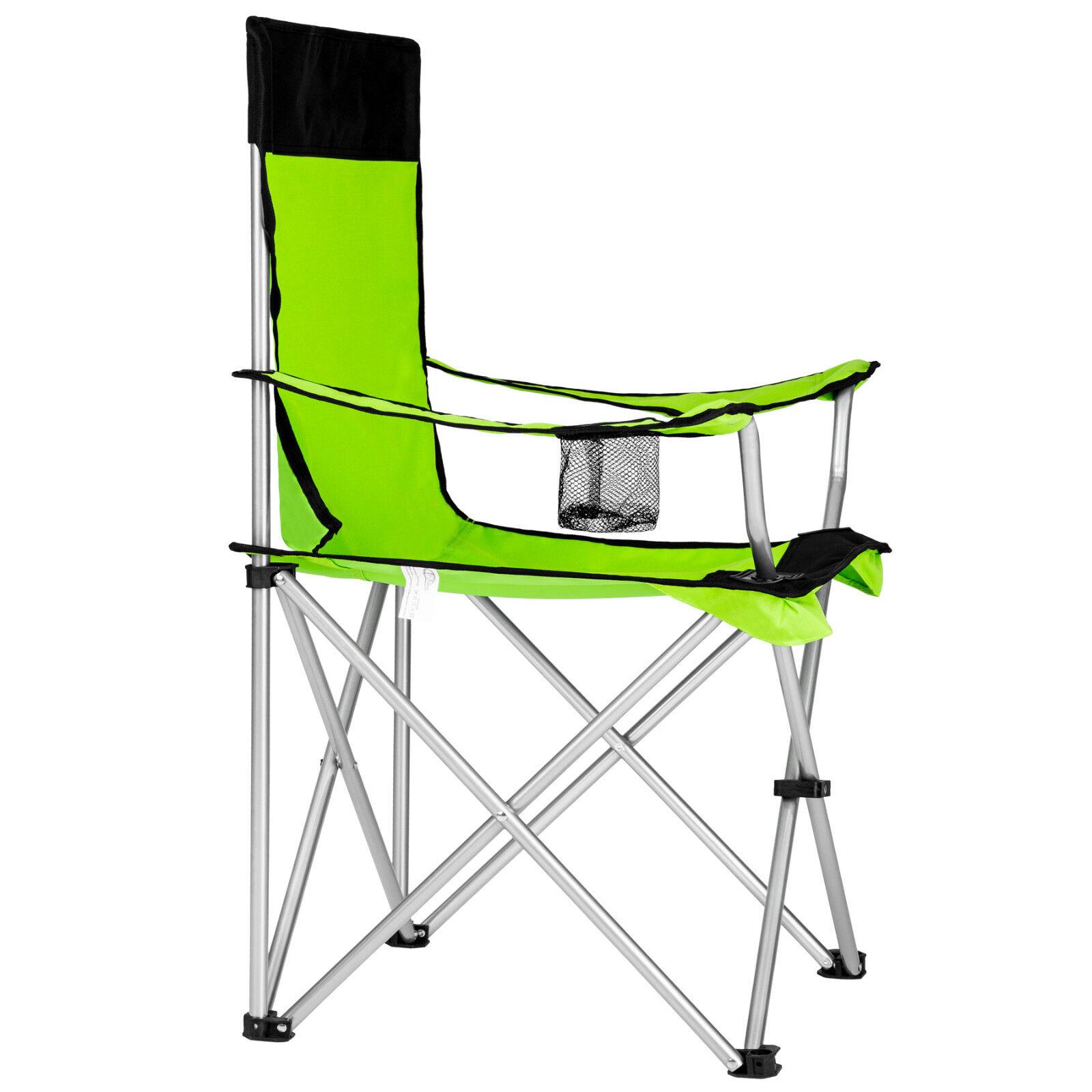 6x Sedia Pieghevole Da Campeggio Borsa Camping Sedia Sedia Sedia Spiaggia da Esterno verde b463f4