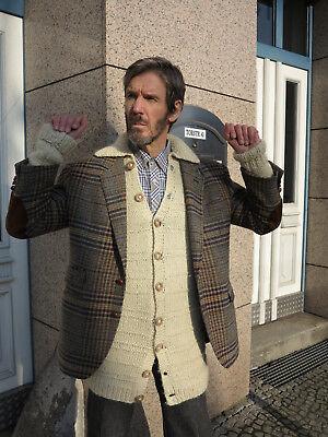 Luminosa Blazer Henry Cottons Jacket A Quadri 90er True Vintage 90s Mens Jacket Pure Wool-mostra Il Titolo Originale