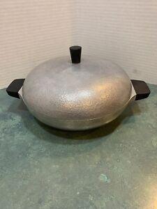 Vintage-Club-Aluminum-Hammercraft-Cookware-2qt-Casserole-Pan-with-Lid