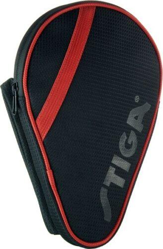 STIGA Ligue batcover-Rouge /& Noir TABLE TENNIS BAT cover