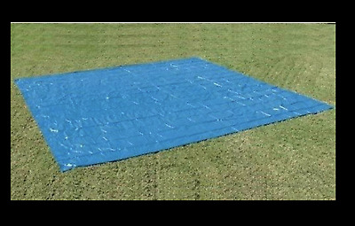 Ground Cloth Tarp for 18 Foot Summer Waves Swimming Pool Mat