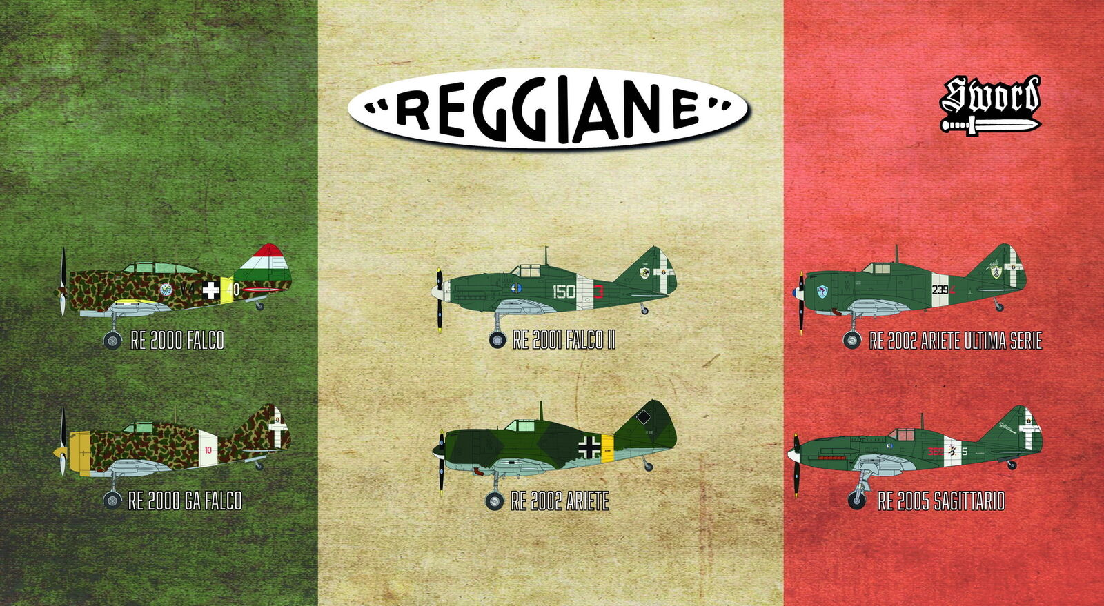 Sword 1 72 Reggiane Fighters  72110  | Vogue