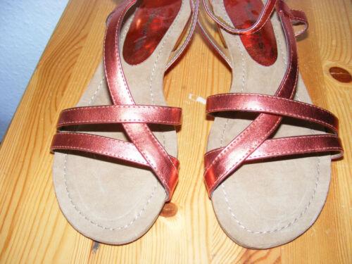 sandali; Strappy Gr Tamaris 38 Shiny New Sandali Flat Perfect axEqPOn