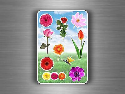 Planche 10 gommettes autocollants stickers enfant carte scrapbooking papillons R