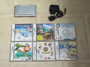 Nintendo DS mit Zubehörpaket + 2 Gratis Spiele
