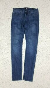 BDG-Women-039-s-Mid-Rise-Twig-Ankle-Dark-Faded-Wash-Blue-Jeans-Size-26-x-29-Stretch