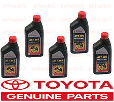 5 Quart GENUINE TOYOTA ATF WS Automatic Transmission oil Fluid ATFWS Lexus Scion