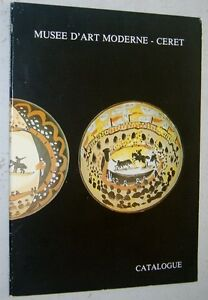 Catalogue-du-MUSEE-D-039-ART-MODERNE-de-CERET-1984-peinture