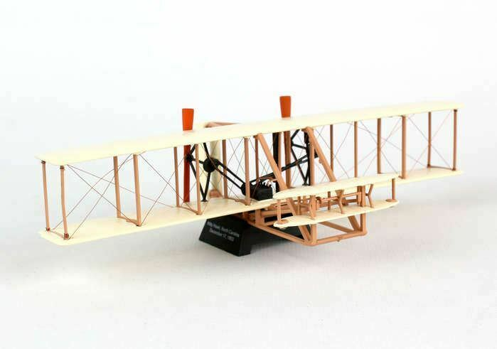 PS5555 Postage Stamp Wright Flyer 1 72 Model Airplane