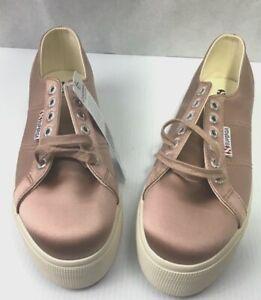 SUPERGA Satin Blush, Platform Sneakers