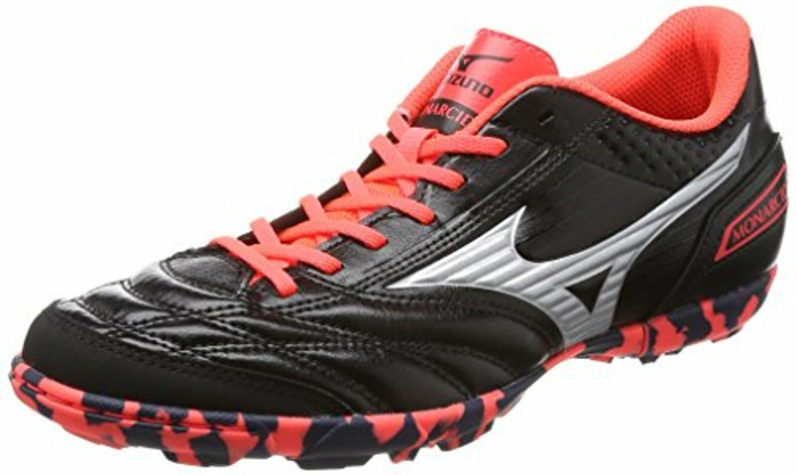 Mizuno Fútbol Zapatos Monarcida FS Tf Ancho Q1gb1712 Negro Us8 (26cm) Frontal