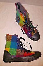Converse Chuck Taylor All Star Hi Rise Woolrich Women Boot Sneaker Shoe Size 7,5