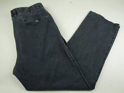 Pants Original Mens Hiltl 34x30 Gray Crimson Pant Contemporary Fit Flat Front Stretch Pants Elegant Appearance Men's Clothing