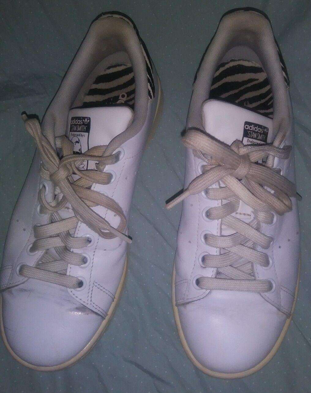 Adidas stan smith zebra samt detail größe schwarz - weiße männer größe detail 7 761cc1