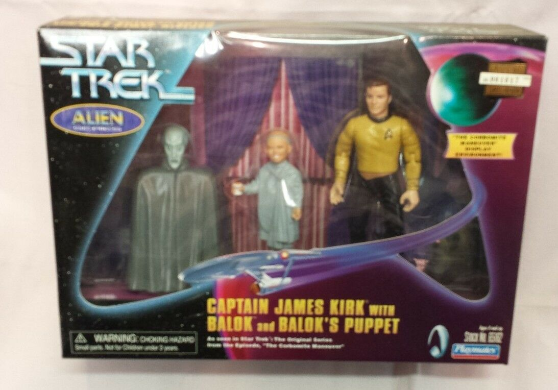 Set of 3 Aliens Star Treking Action Figure Sets - 7 in Total  M2167