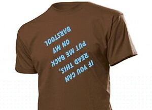 Divertente-maglietta-034-If-you-can-leggere-questo-mettere-me-back-on-my