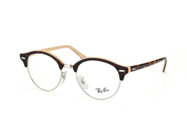 73df09bfc0 Ray Ban Clubround RB 4246V 5239 Havana   Beige Glasses Eyeglasses Frames  49mm