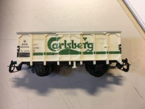 Gedeckter Güterwagen Maulkupplung 2-Achser Carlsberg Spur TT Spur TT