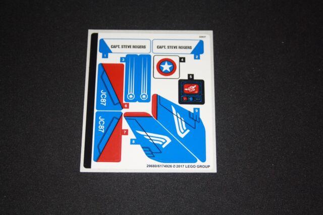 Stickers - Lego Autocollants / stickers - 76076