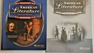 Abeka-American-Literature-Textbook-amp-Quiz-Test-Key-CURRENT-4th-Edition-11th-Gra