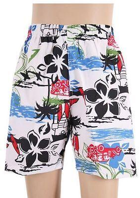 Kinder Hawaii Badeshorts Jungen Badehose Bermuda Shorts Bunt 110/116 122/128