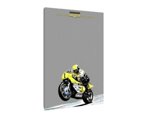 Kenny Roberts 30x20 Inch Canvas Yamaha YZR 500 Grand Prix Framed Picture