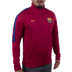 2d6b3d04bdf56 La imagen se está cargando Nike-FC-Barcelona-2017-2018-Autentico-Franquicia- Chaqueta-
