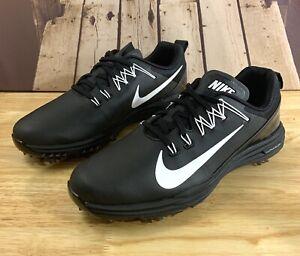 nike lunar golf shoes black