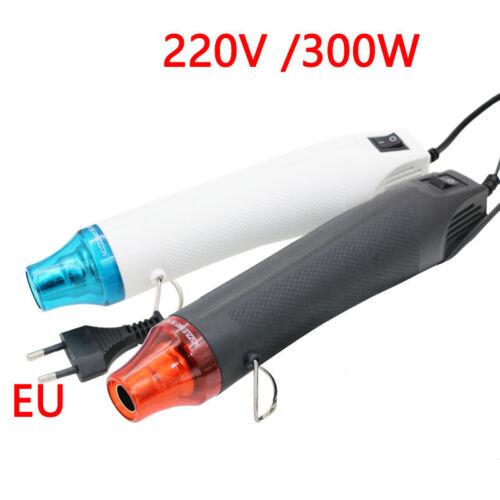 220 V À faire soi-même Pistolet Thermique Outil électrique air chaud 300 W Avec Support Siège rétractable en plastique