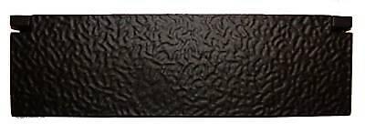 AB385 Large Rustic Inner Door Letter Flap in Black Cast Iron