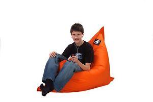 Giant-Bean-Bag-Cover-Orange-Junior-Size-140cm-x-110cm
