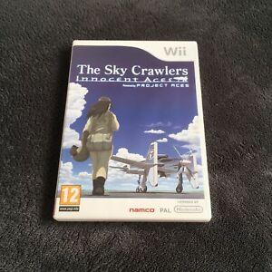 Nintendo-Wii-The-Sky-Crawlers-Innocent-Ages-FAH-CD-etat-Neuf