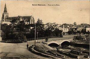 CPA St-MAIXENT - Pont sur la Sevre (299397)