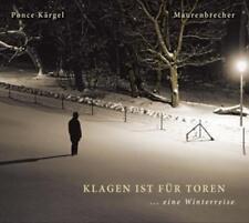 Winterreise von Manfred Maurenbrecher,Marco Ponce Kärgel (2014), Digipack, CD