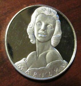 Marilyn Monroe Joe Dimaggio 1 troy oz .999 fine silver art