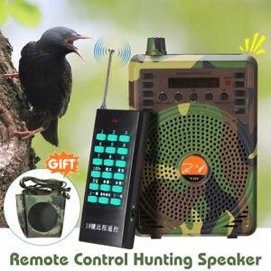 48W 2600mAh Hunting Speaker Bird Caller Predator Sound Caller MP3