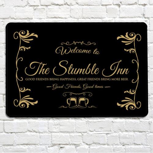 The Stumble Inn Bar Man cave Metal Sign in door /& out door use